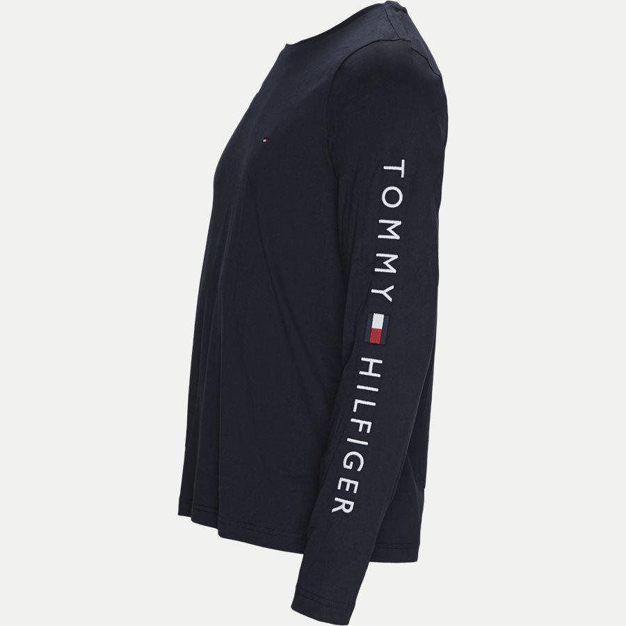 12514 TOMMY LOGO LONG SLEEVE - Tommy Logo Long Sleeve T-shirt - T-shirts - Regular - NAVY - 4