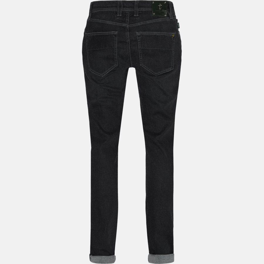 LEONARDO DENIM CASHMERE - Jeans - Regular fit - GREY/BLACK - 2