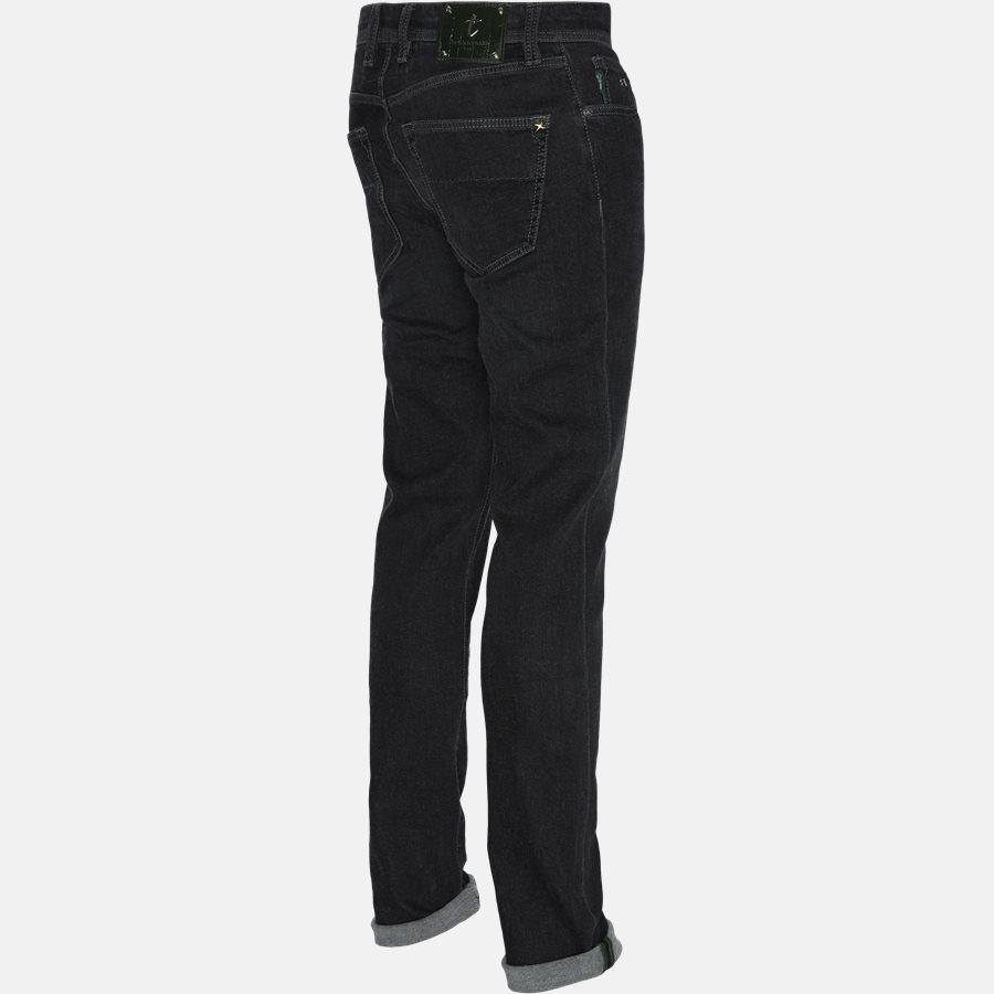 LEONARDO DENIM CASHMERE - Jeans - Regular fit - GREY/BLACK - 3