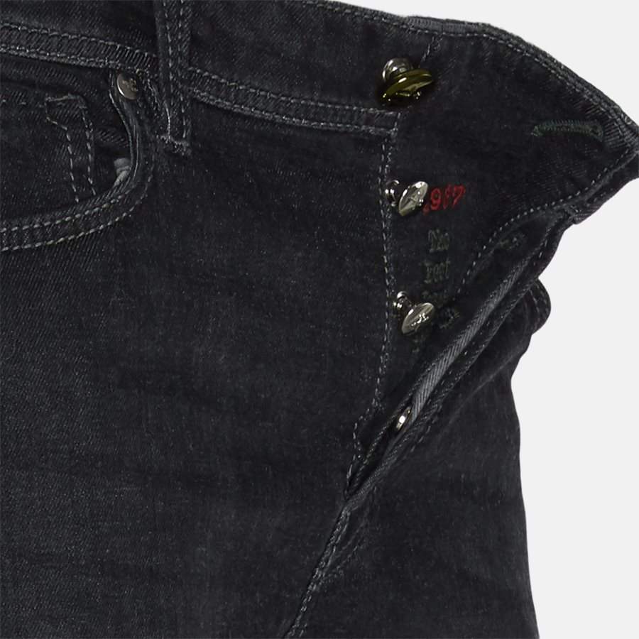 LEONARDO DENIM CASHMERE - Jeans - Regular fit - GREY/BLACK - 4