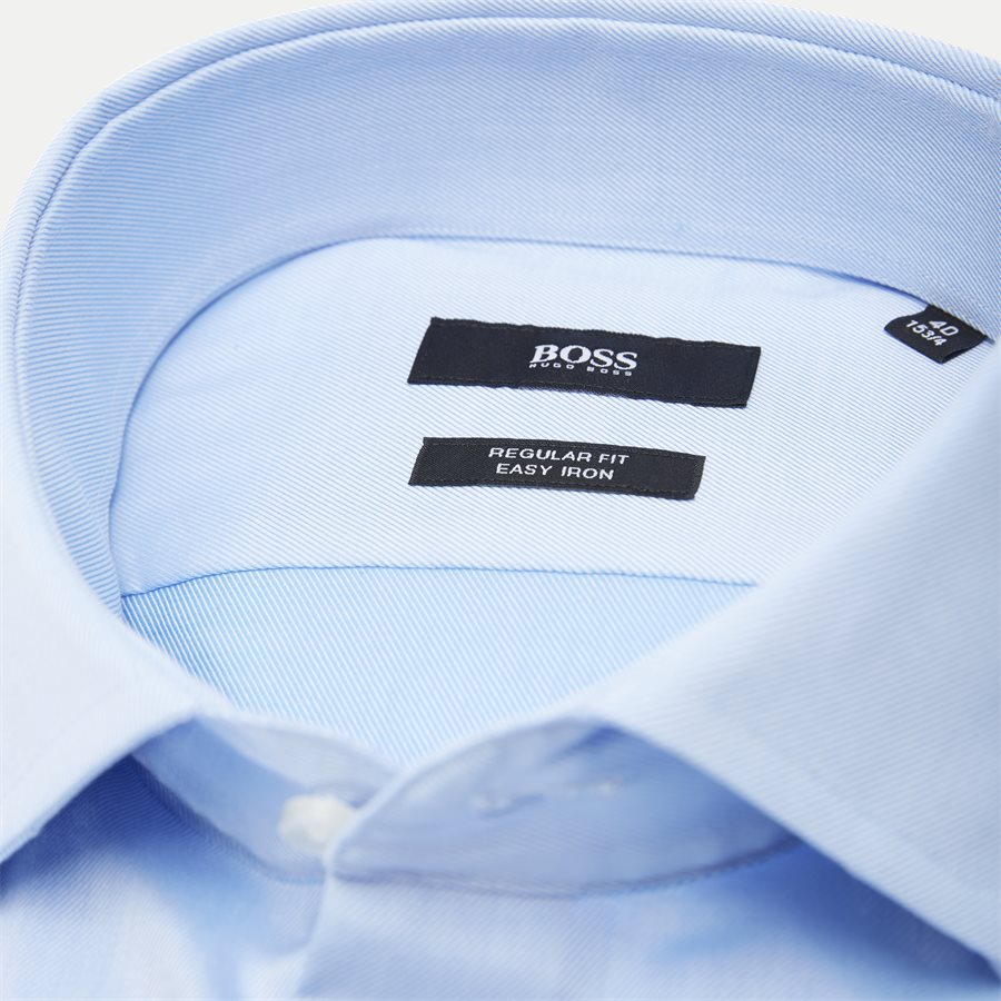 50415619 GORDON - Shirts - Regular - LYSBLÅ - 2