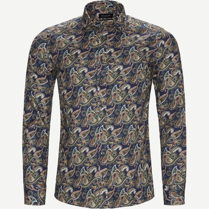 8538 Iver/State Skjorte - Skjorter - Blå