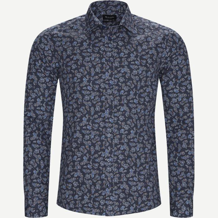 8545 Iver/State Skjorte - Skjorter - Blå