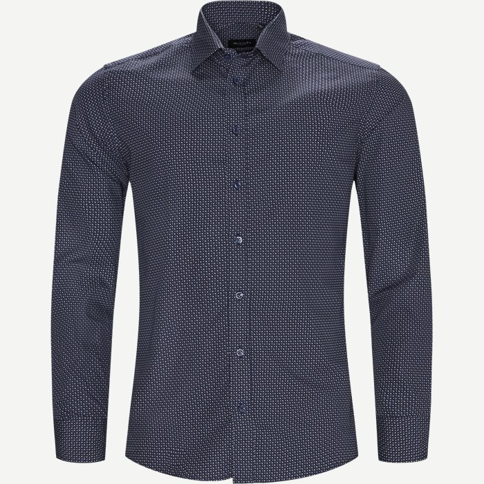 8539 Iver Trim/State Trim Skjorte - Skjorter - Blå