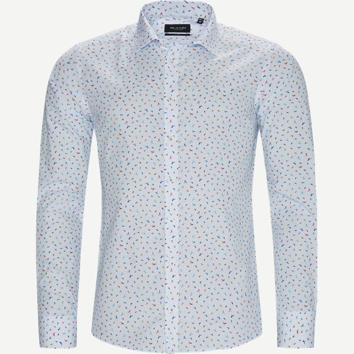 8547 Iver/State Skjorte - Skjorter - Blå