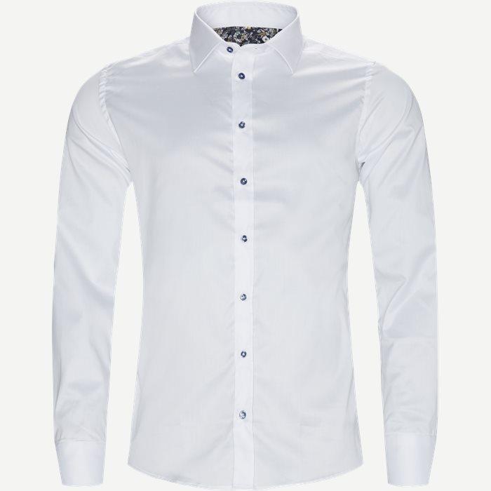 8108 Iver N Trim/State N Trim Skjorte - Skjorter - Hvid