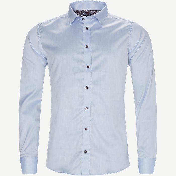 8108 Iver N Trim/State N Trim Skjorte - Skjorter - Blå