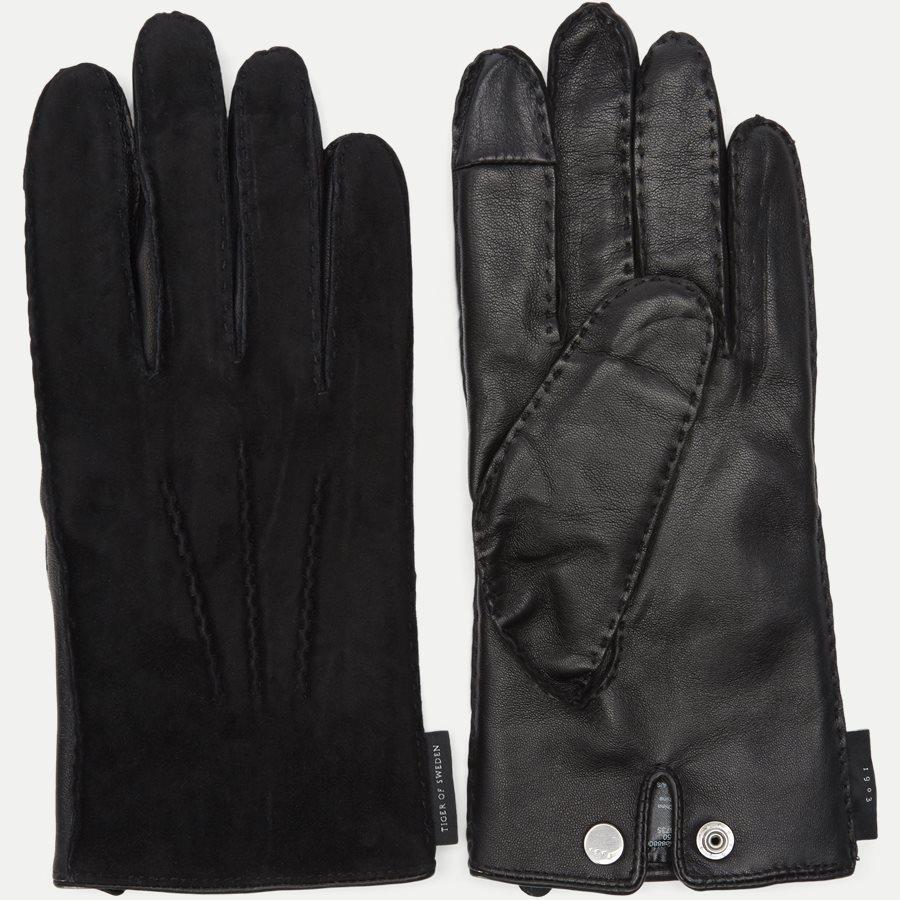 U50888 GUSAVE S - Gustave S handsker - Handsker - SORT - 2