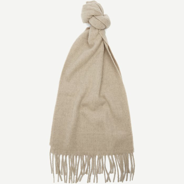 Berg Halstørklæde - Tørklæder - Sand