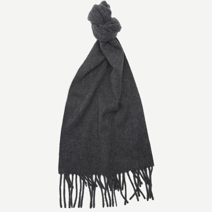 Berg Halstørklæde - Tørklæder - Grå