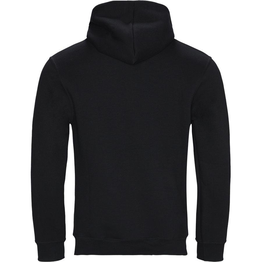 POLK - Polk Hoodie - Sweatshirts - Regular - BLACK - 2