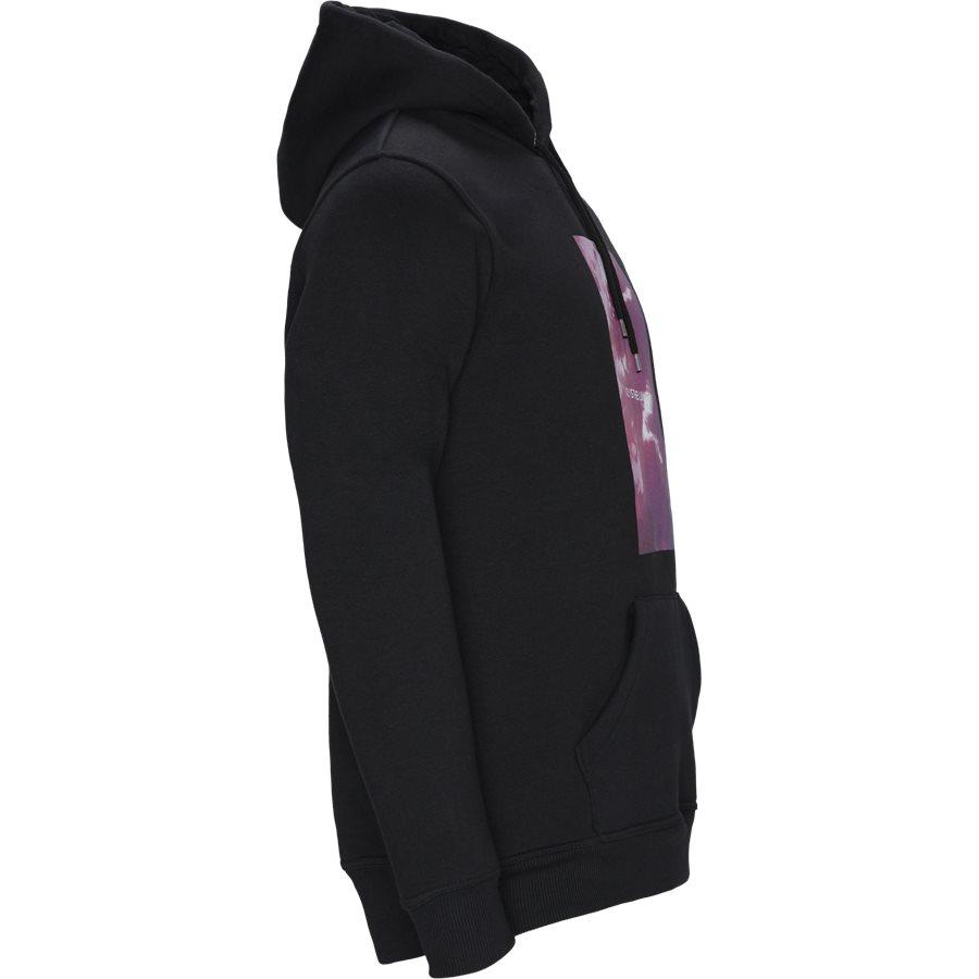 POLK - Polk Hoodie - Sweatshirts - Regular - BLACK - 4