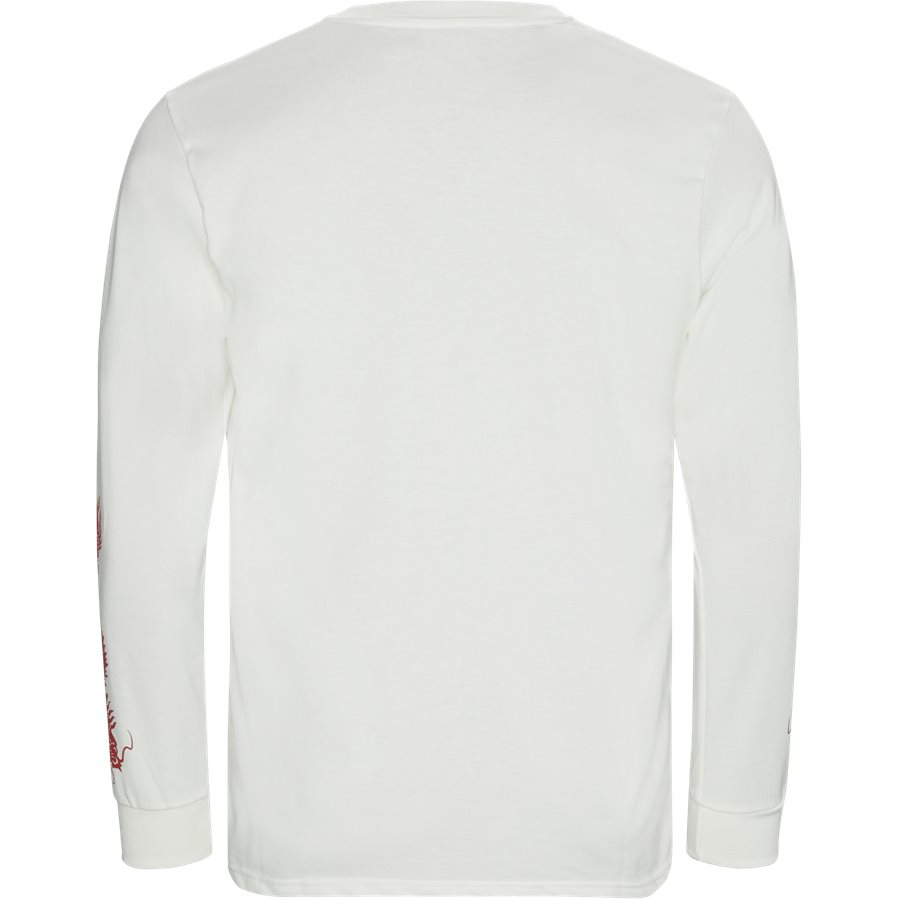 MADISON - Madison LS Tee - T-shirts - Regular - ECRU - 2