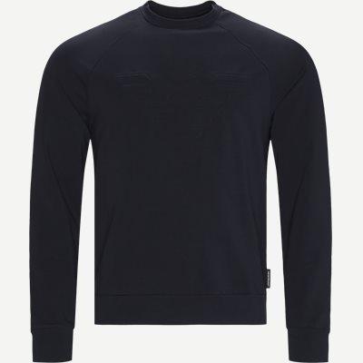 1J04Z Crewneck Sweatshirt Regular | 1J04Z Crewneck Sweatshirt | Blå