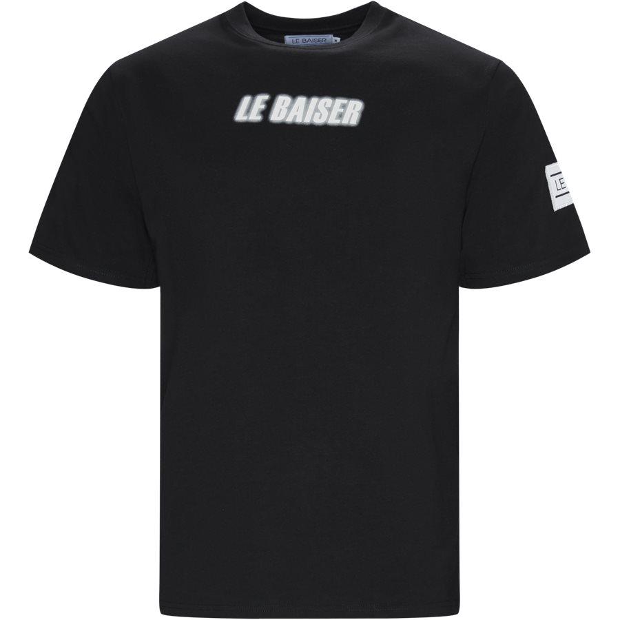 MONET - Monet Tee - T-shirts - Regular - BLACK - 1