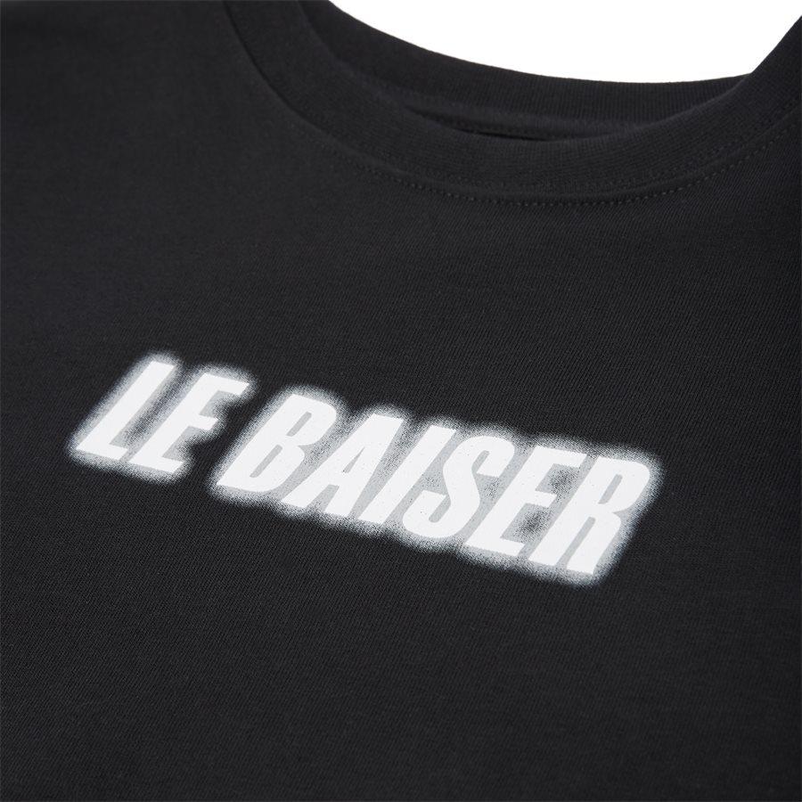 MONET - Monet Tee - T-shirts - Regular - BLACK - 4