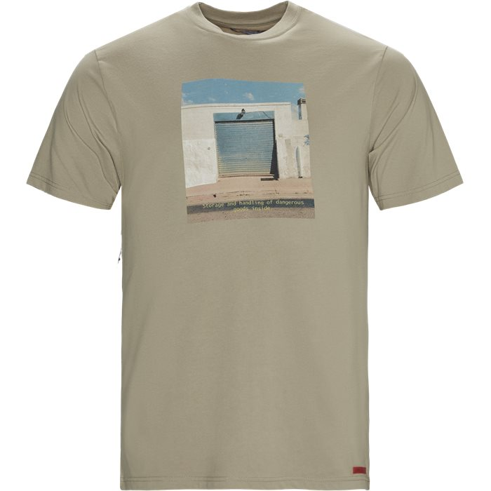 Ontario Tee - T-shirts - Regular - Sand