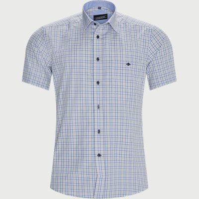 Thiago Kortærmet Skjorte Regular | Thiago Kortærmet Skjorte | Blå
