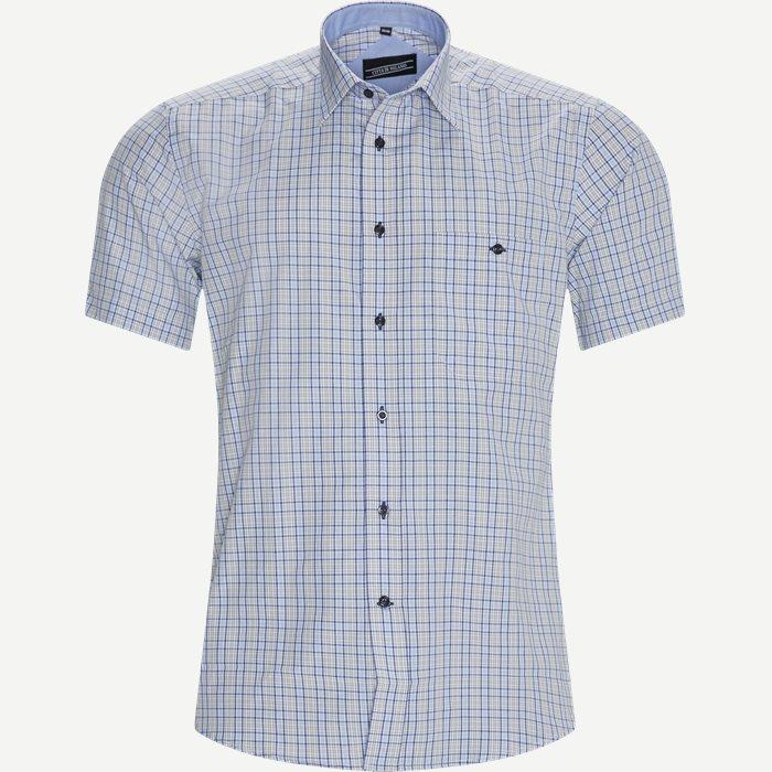 Thiago Kortærmet Skjorte - Kortærmede skjorter - Regular - Blå