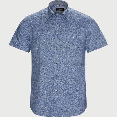 Ian Kortærmet Skjorte Regular | Ian Kortærmet Skjorte | Blå