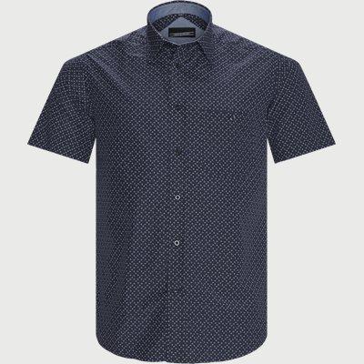 Enzo Kortærmet Skjorte Regular fit | Enzo Kortærmet Skjorte | Blå