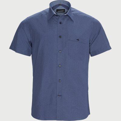 Iago Kortærmet Skjorte Regular | Iago Kortærmet Skjorte | Blå