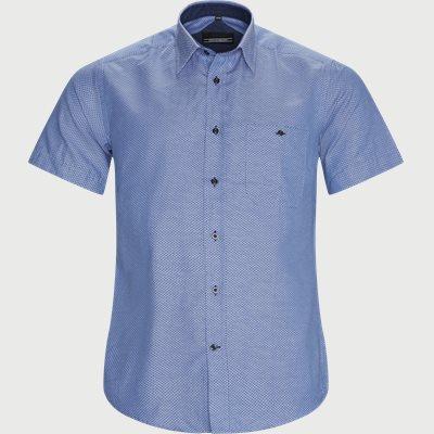 Marcon Kortærmet Skjorte Regular fit | Marcon Kortærmet Skjorte | Blå