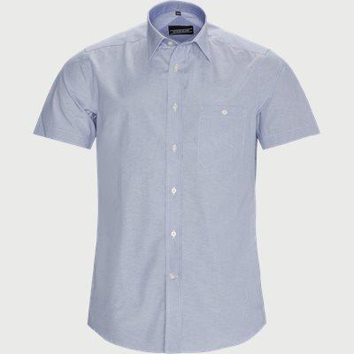 Mateo Kortærmet Skjorte Regular | Mateo Kortærmet Skjorte | Blå