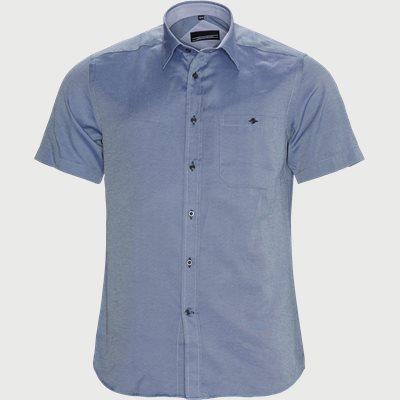 Asier Kortærmet Skjorte Regular | Asier Kortærmet Skjorte | Blå