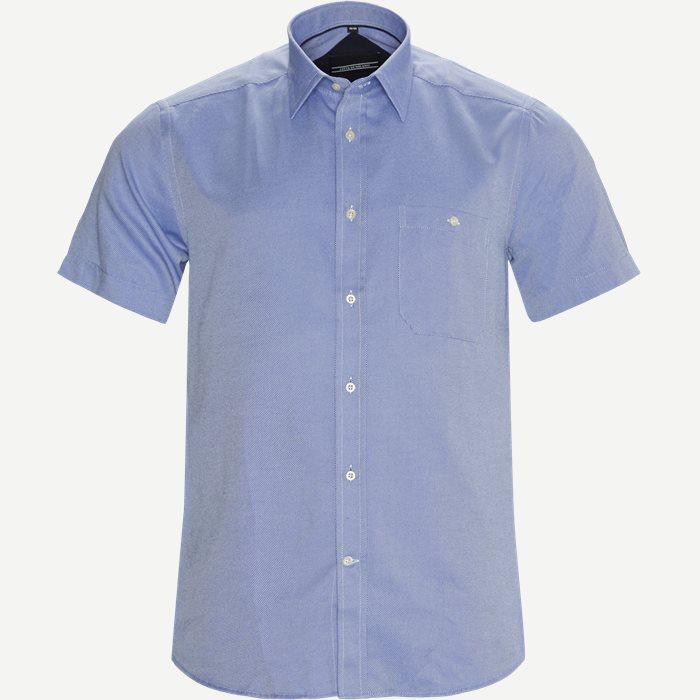 Kortærmede skjorter - Blå