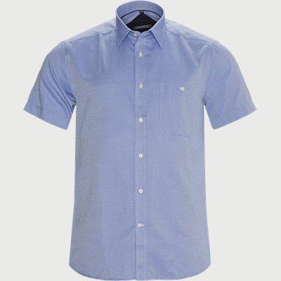 Christiano Kortærmet Skjorte Regular | Christiano Kortærmet Skjorte | Blå