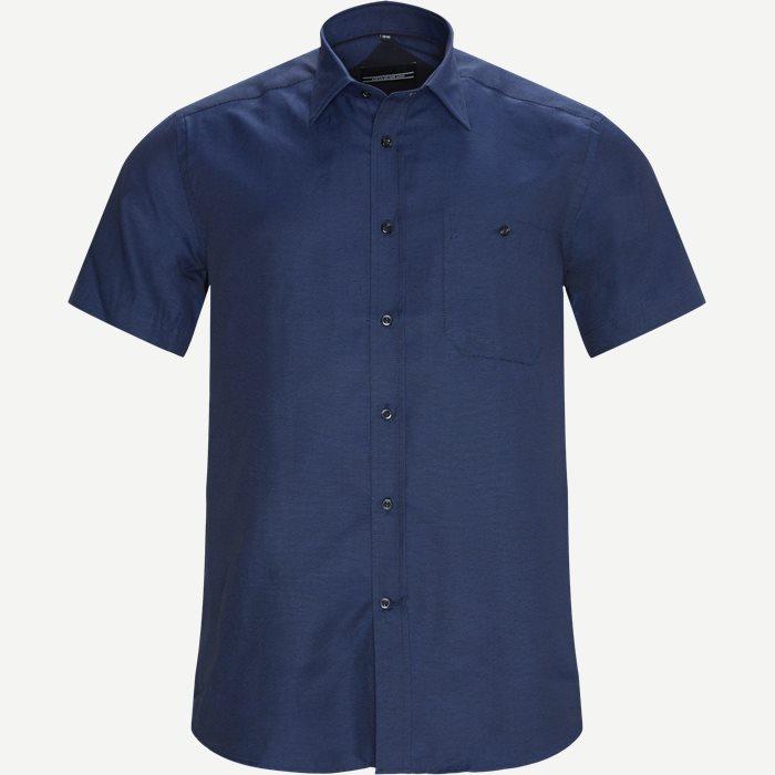 Christiano Kortærmet Skjorte - Kortærmede skjorter - Regular - Blå