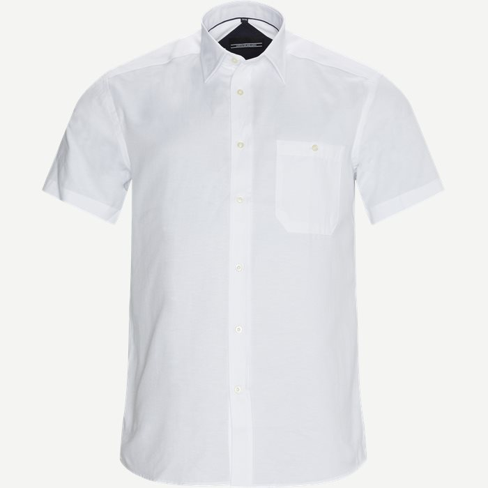 Christiano Kortærmet Skjorte - Kortærmede skjorter - Regular - Hvid