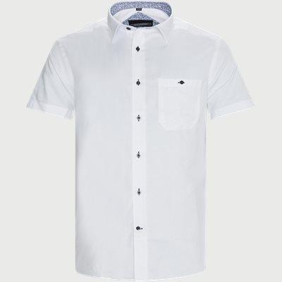 Brais Kortærmet Skjorte Regular | Brais Kortærmet Skjorte | Hvid
