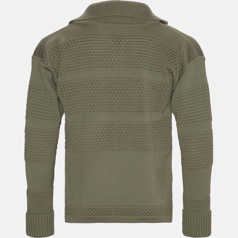 FISHERMAN FULL ZIP - Knitwear - Regular fit - KHAKI - 2