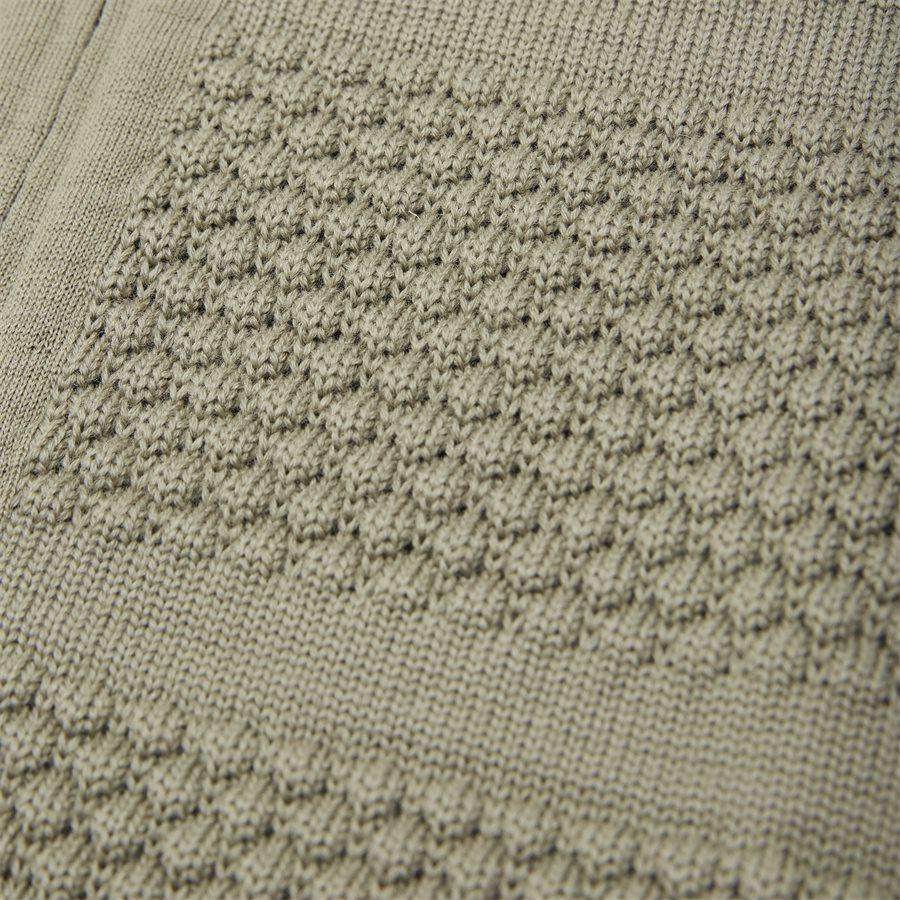 FISHERMAN FULL ZIP - Knitwear - Regular fit - KHAKI - 3