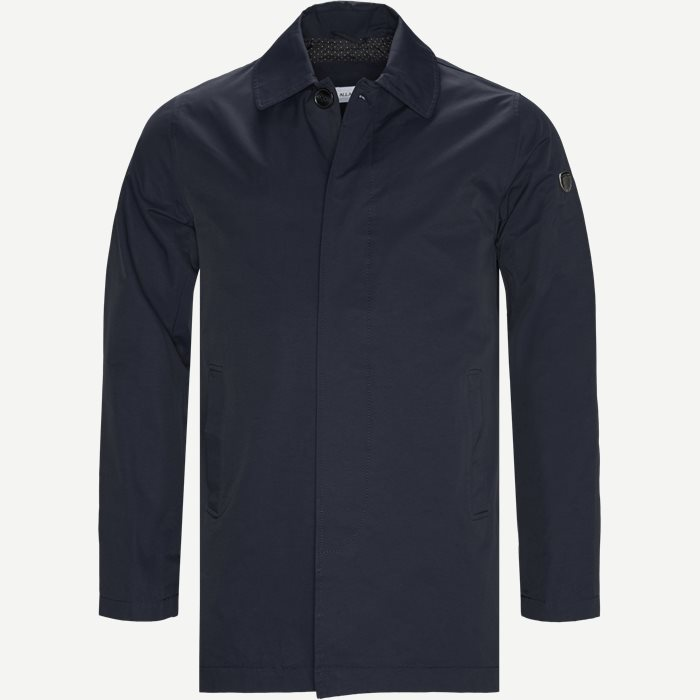 Klevis Trenchcoat - Jakker - Regular - Blå