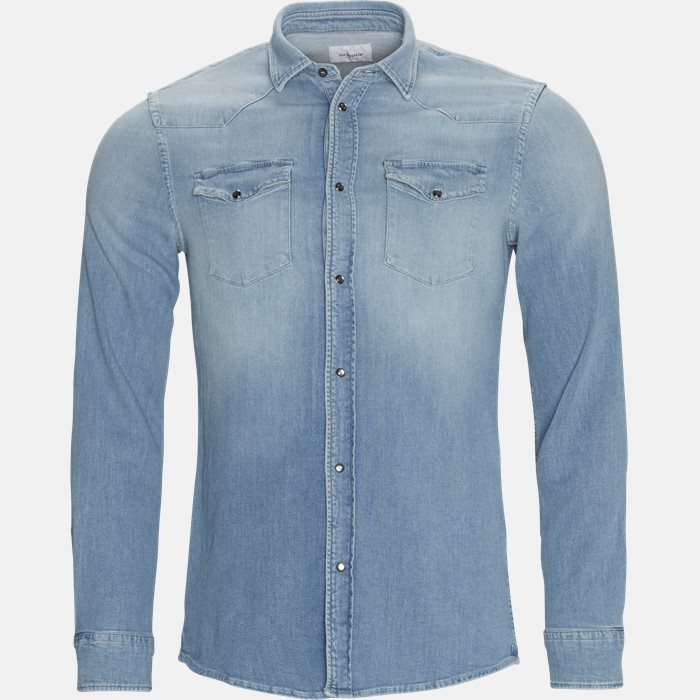 Shirts - Regular fit - Denim