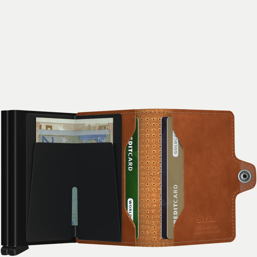 TPF PERFORATED - TPF Twinwallet - Accessories - COGNAC - 3