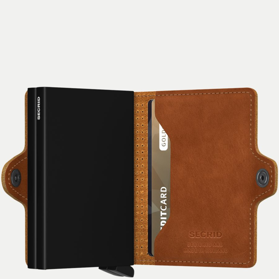 TPF PERFORATED - TPF Twinwallet - Accessories - COGNAC - 4