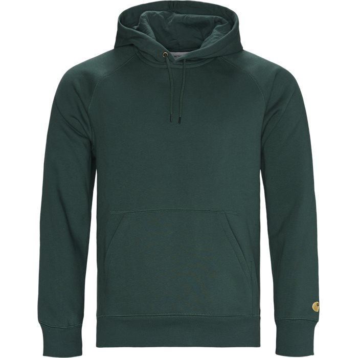 Hooded Chase Sweatshirt - Sweatshirts - Regular - Grøn