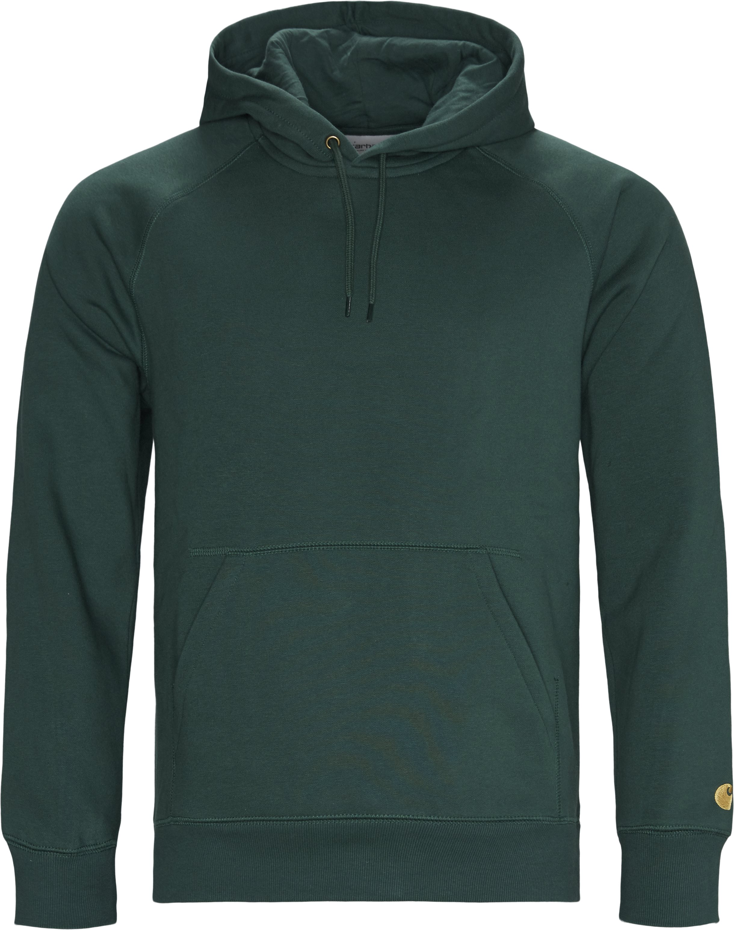 Hooded Chase Sweatshirt - Sweatshirts - Regular fit - Grøn