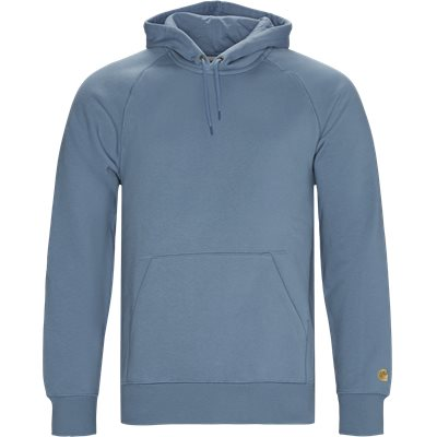 Hooded Chase Sweatshirt Regular | Hooded Chase Sweatshirt | Blå