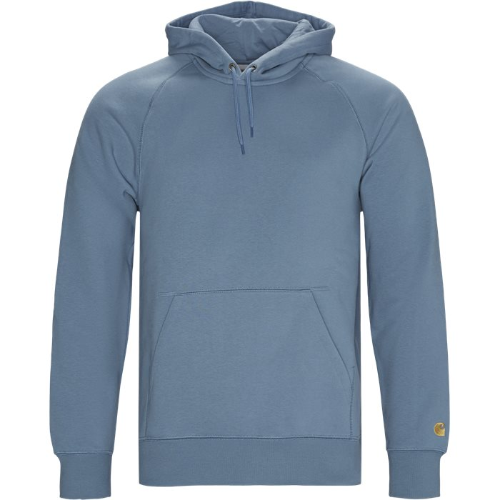 Hooded Chase Sweatshirt - Sweatshirts - Regular - Blå