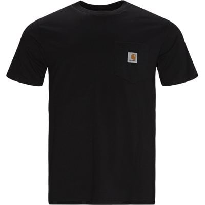Regular | T-shirts | Svart