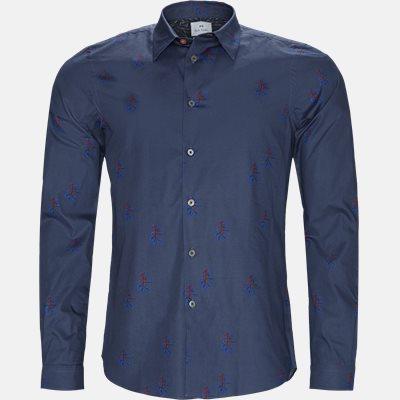 Tailored fit | Skjorter | Blå
