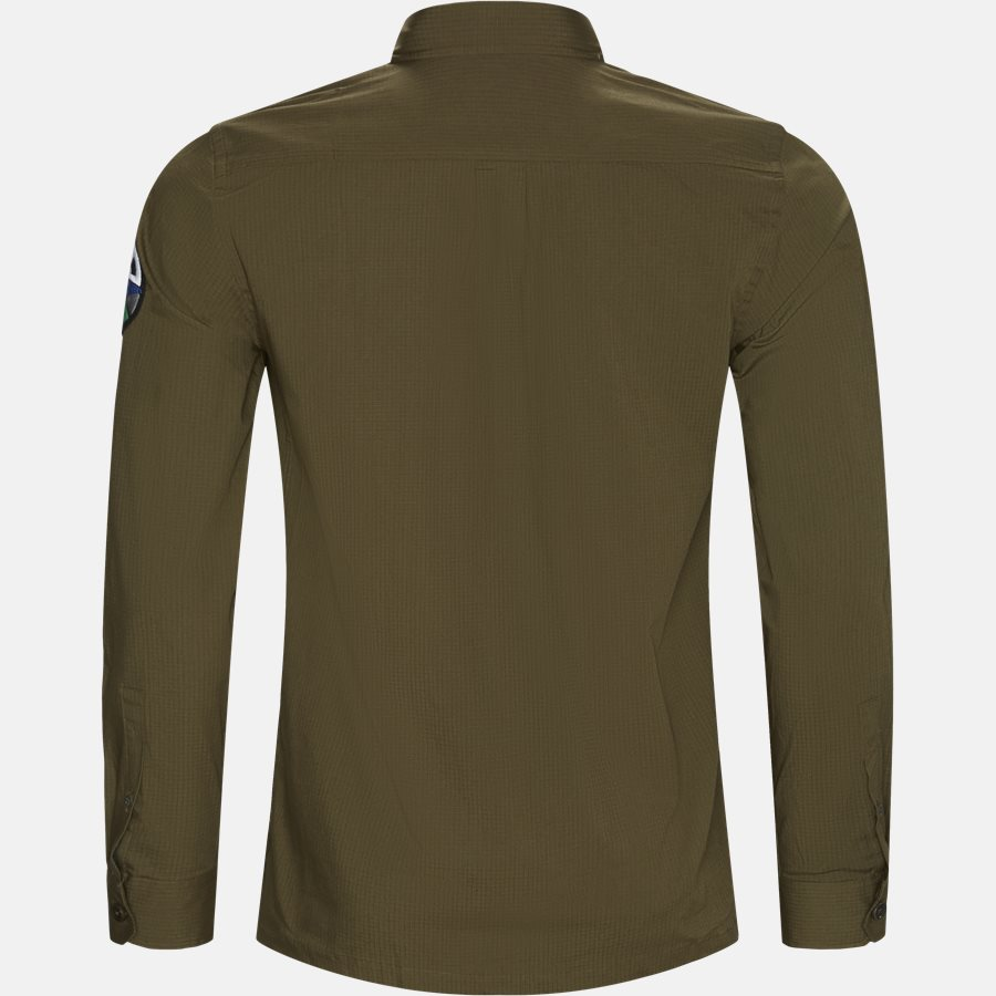 874TB A20796 - Skjorter - Casual fit - ARMY - 2