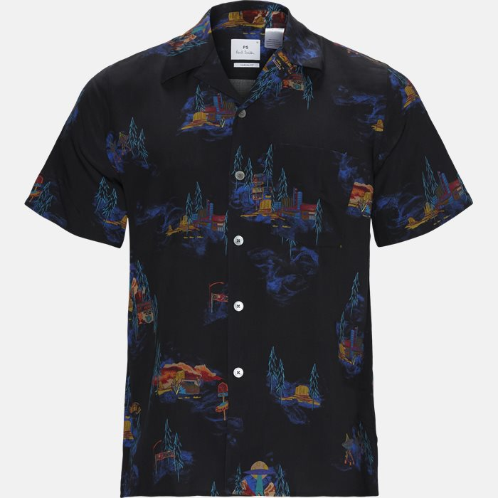 Short-sleeved shirts - Black