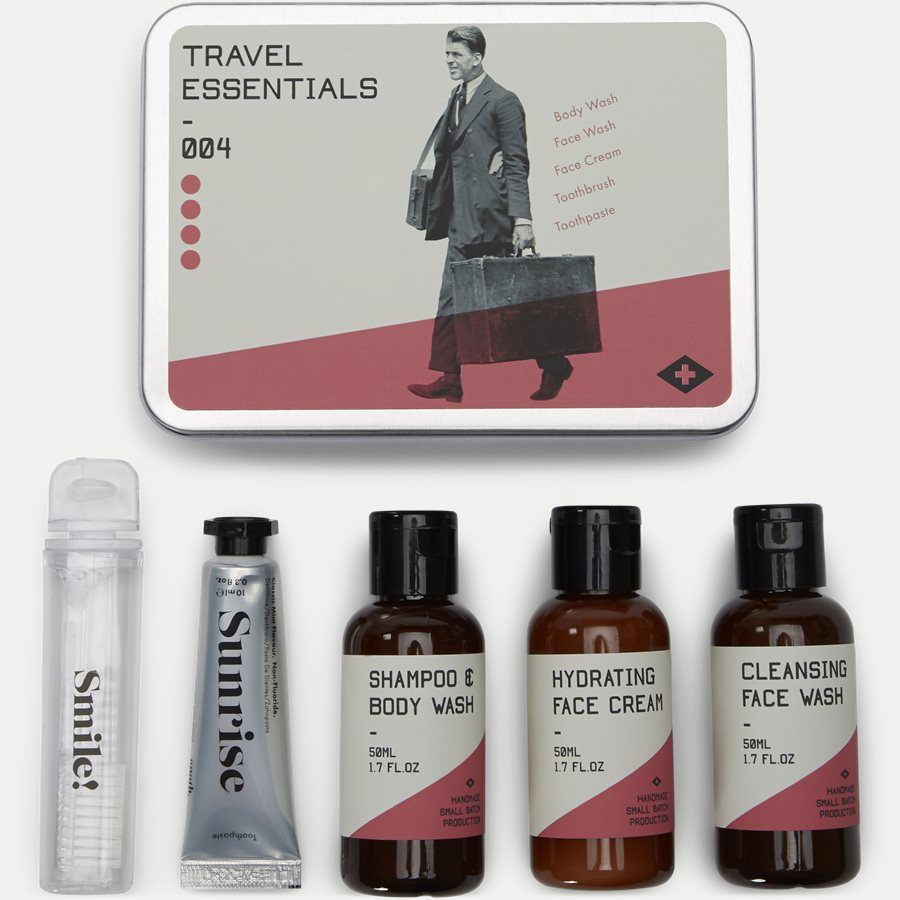 TRAVEL ESSENTIAL KIT - Travel Essentials - Accessories - GRÅ - 4