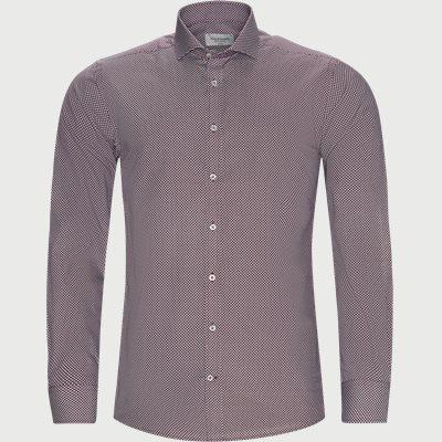 Lebron Skjorte Slim | Lebron Skjorte | Rød